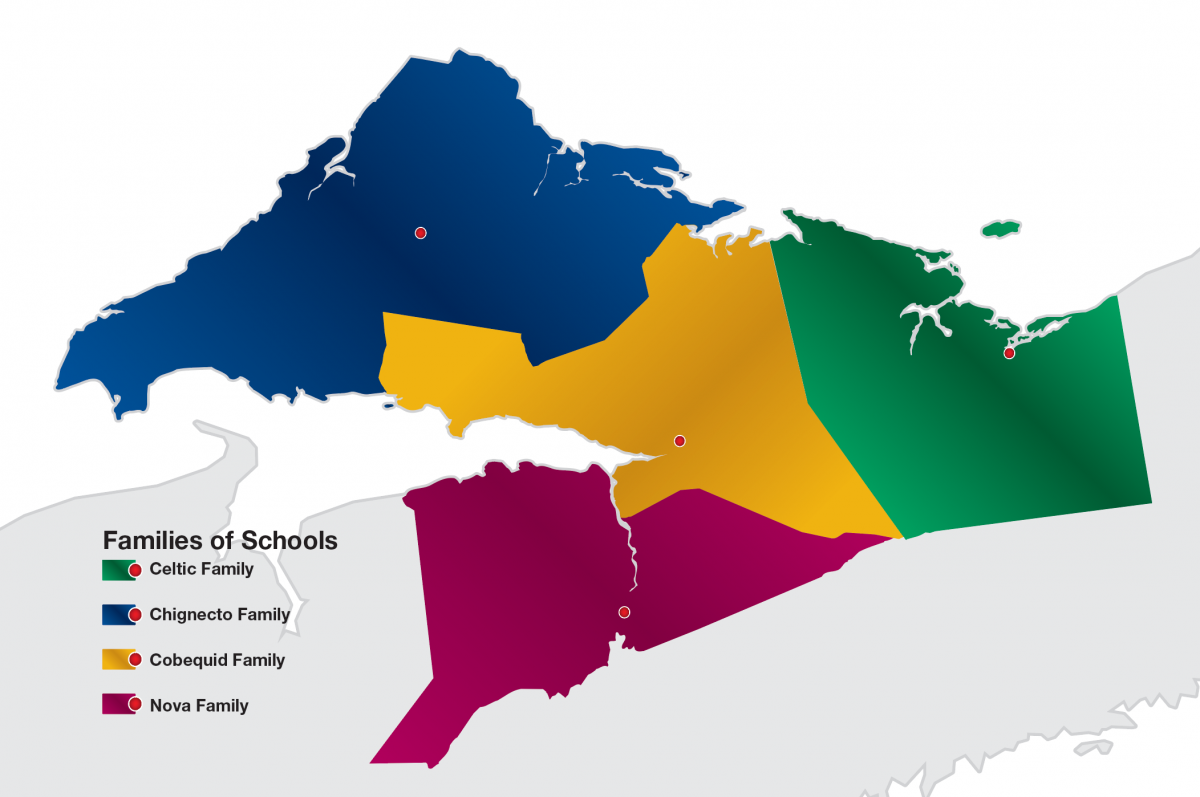 Family of Schools | Chignecto Central Regional Centre for