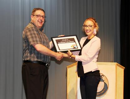 When teachers from the Cobequid Educational Centre (CEC) discussed nominations for the Rick Hansen Difference Maker award in the spring, one name kept coming up -- Charleigh Marshall.