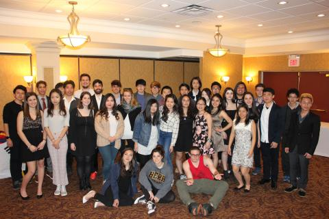This year CCRSB had 43 international graduates, an all-time high for the school board