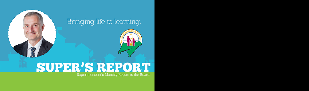 September Super's Report highlights achievement and efforts of CCRSB